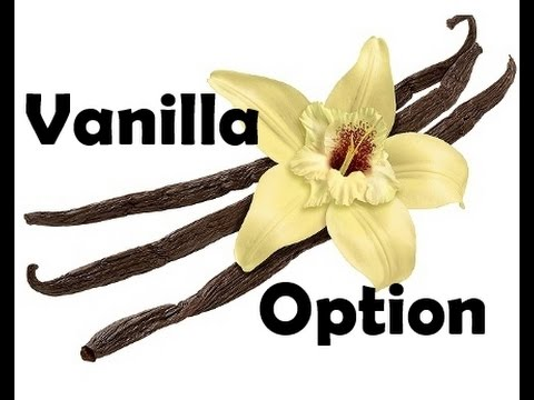 vanília opciók