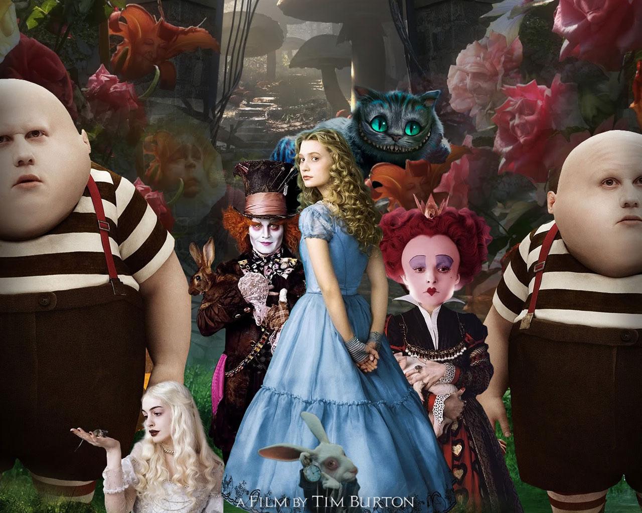 A kép alján látható Fehér Királynő egyébként gyanusan hasonlít a mi szerett  Kiszel Tüncinkre c23f30f1e2