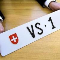 A legdrágább svájci autórendszám