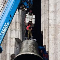 Újra akcióban a Négy Mancs: sürgősen el kell távolítani a Mátyás-templom új harangjait