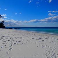 A Világ Legfehérebb Homokú Tengerpartja: Hyams Beach, Jervis bay!