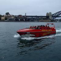 Speedboat-tal száguldás a Sydney öbölben