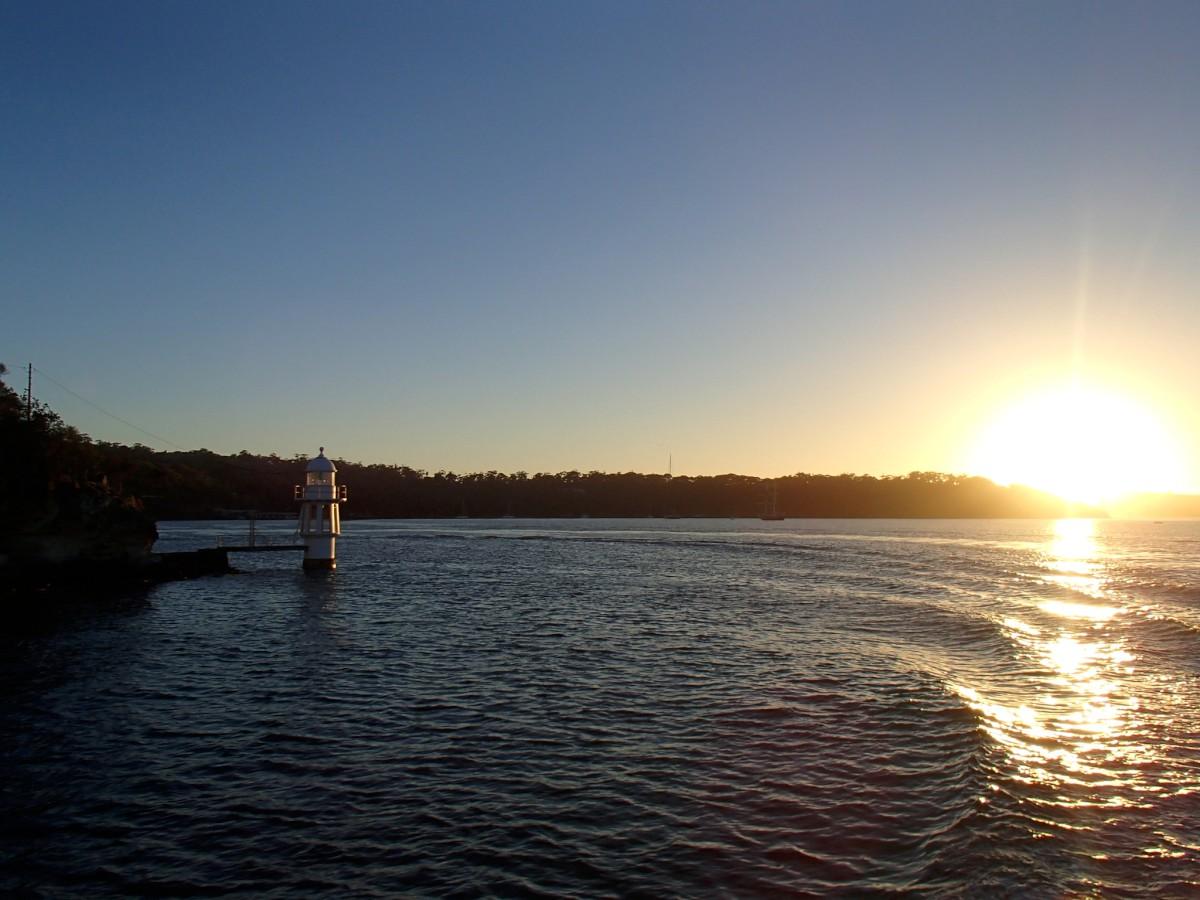 Napfelkelte a hajón
