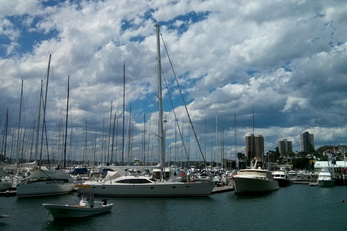 Csendélet a kikötőben