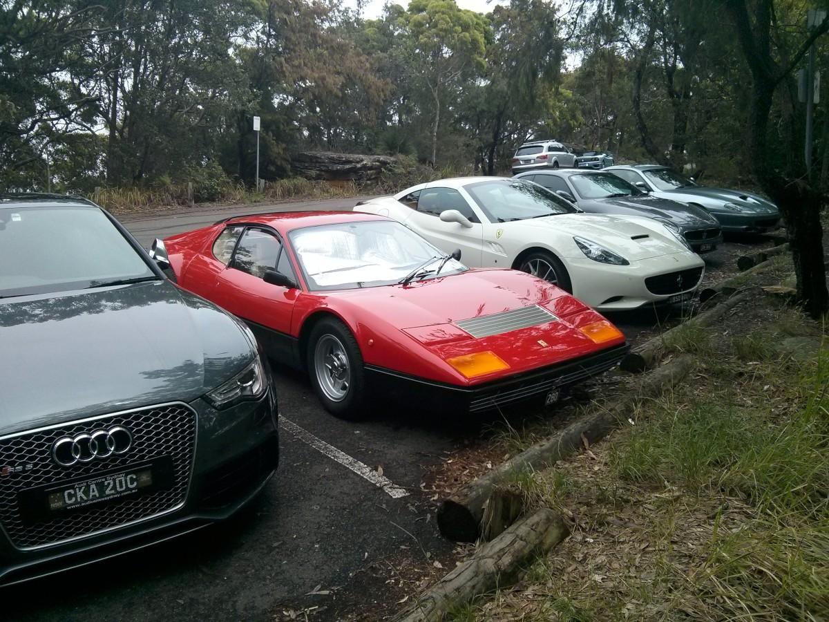 A Ferrari klub találkozója