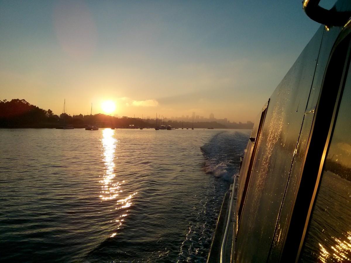 Napfelkelte Sydney-ben, megunhatatlan