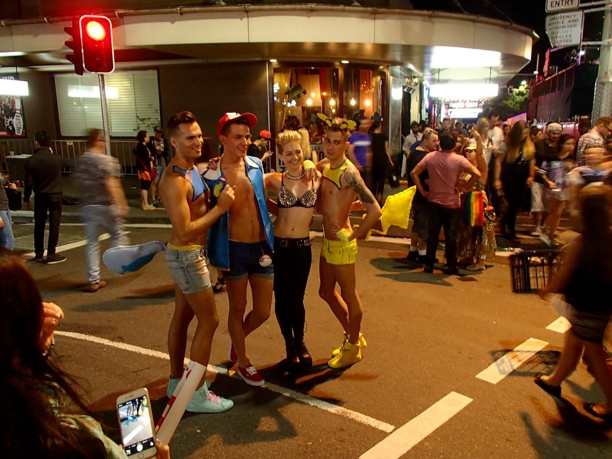 Melegbarát Sydney a Mardi Gras idején