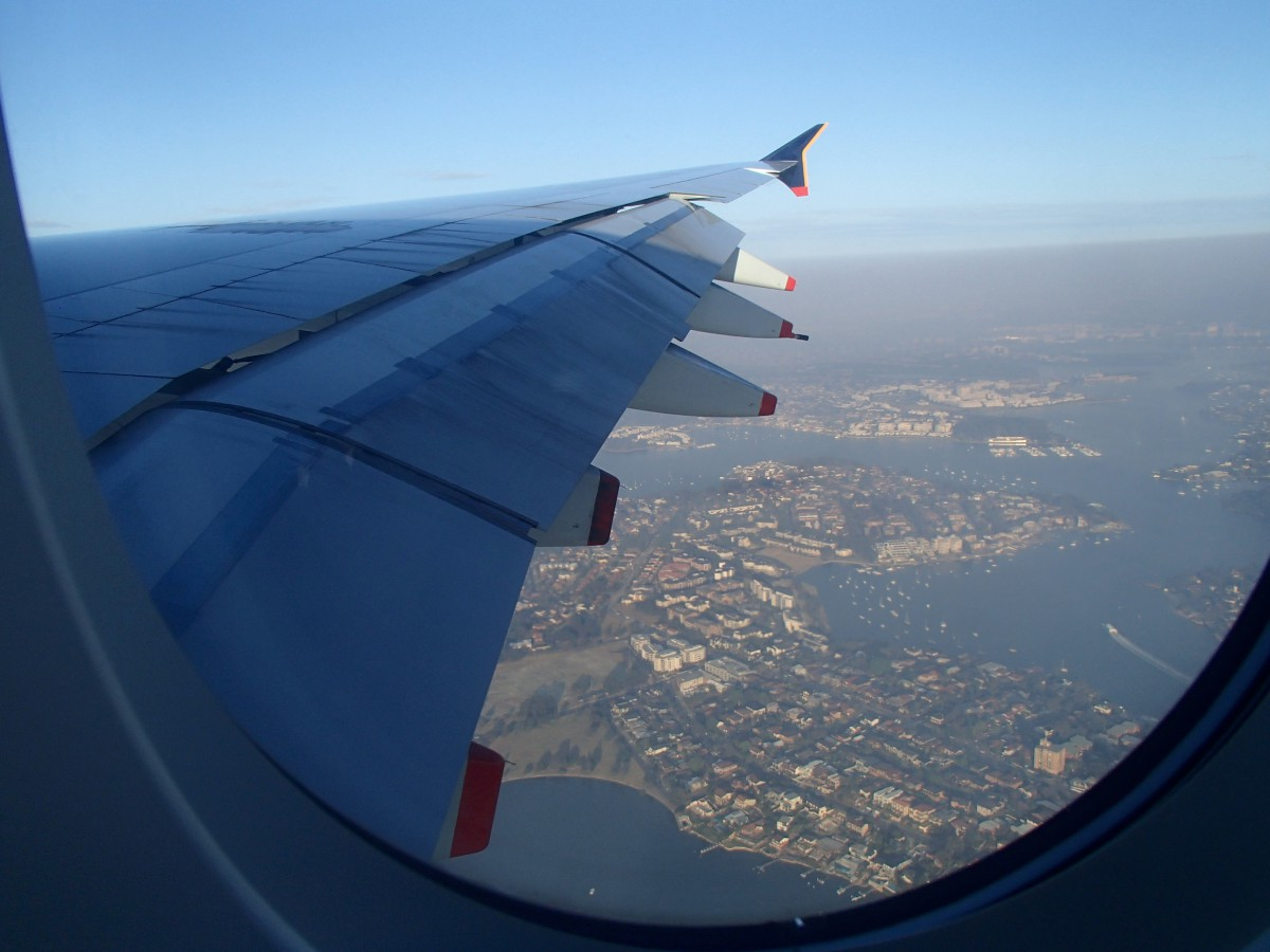 Sydney fölött