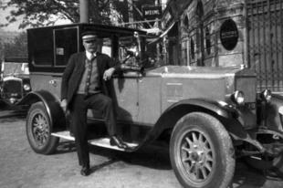 Taxizás a fővárosban '48-ig