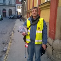 20 éve árulom a Fedél Nélküli újságot, van,  akinek ingyen is adok
