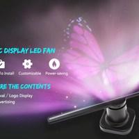 Utorch holografikus kivetítő, a tökéletes reklámfelület!