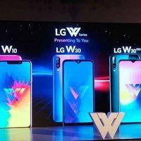 Debütáltak az LG W-szériás okostelefonok!