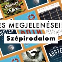 2019-es megjelenések a 21. Század Kiadónál – Szépirodalom