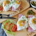 Egyszerű finomságok sonkával és tojással