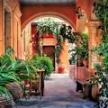 Mediterrán vidéki hangulat a verandán és az erkélyen