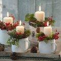 Egyszerű, szép adventi dekorációk