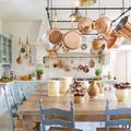 Francia vidéki hangulatú öreg ház új élete