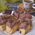 Pillekönnyű rumos-csokis süti