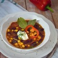 A chilis bab füstölt hússal a legfinomabb