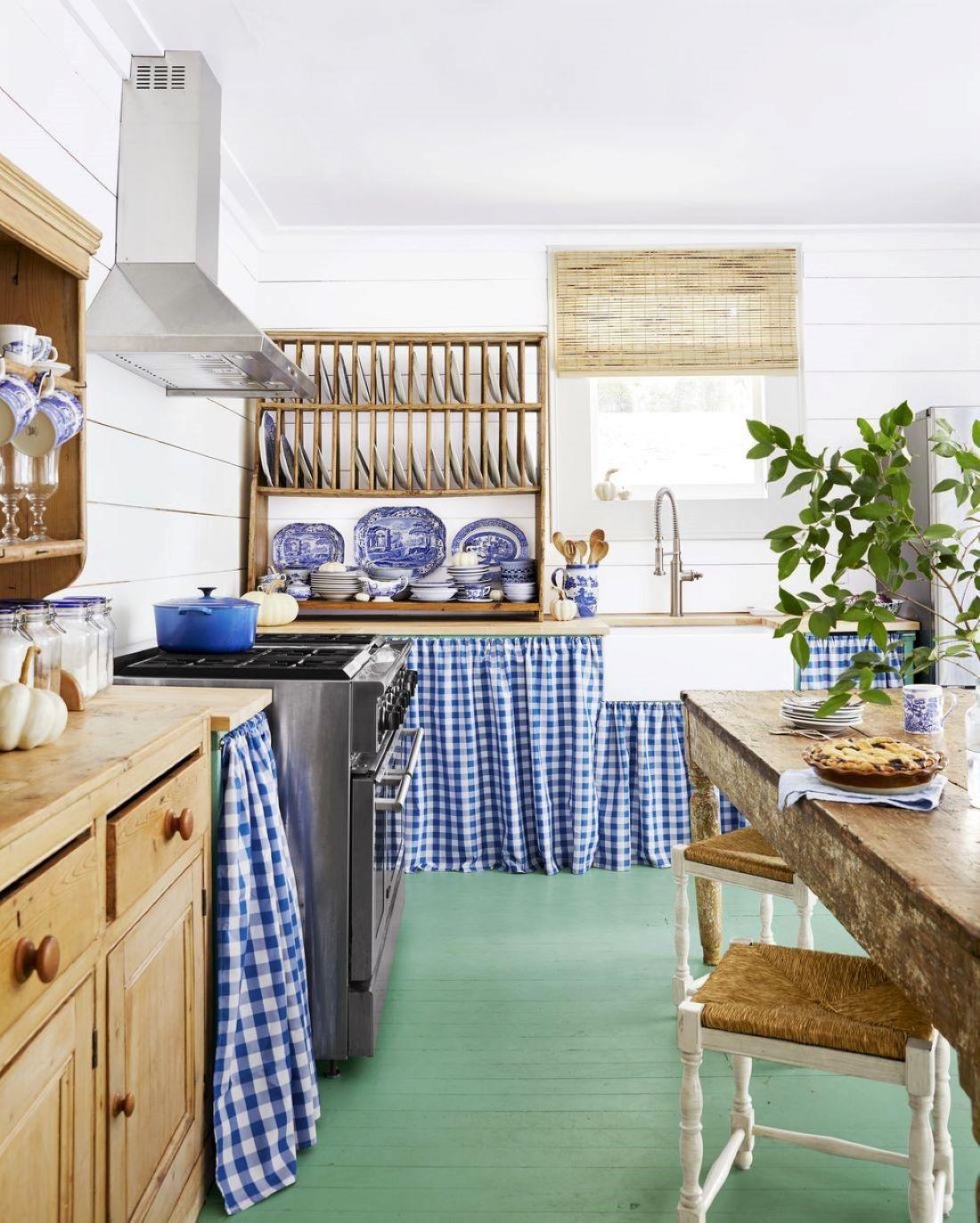 Bohém színes konyhák
