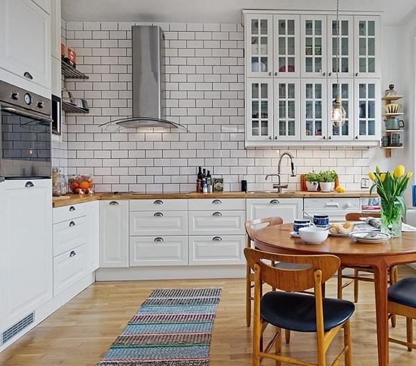 Egyszerű skandináv konyhák