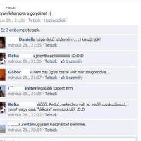 Facbook szösszenet