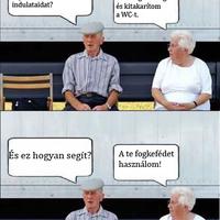 Öreg házasok
