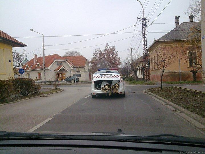 Akcióban a rendőrség!
