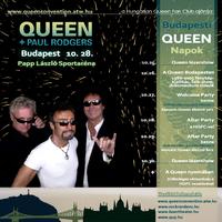 Queen koncert és budapesti rendezvények