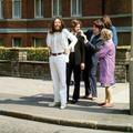Beatles-vonat a zebra előtt