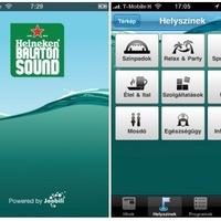 Balaton Sound iPhone applikáció