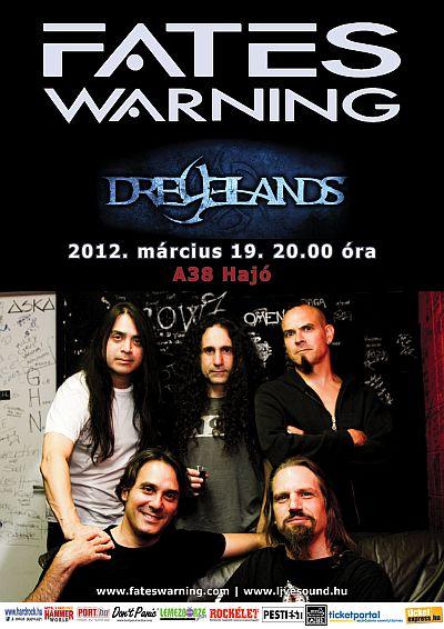 A Fates Warning-koncert utórezgései
