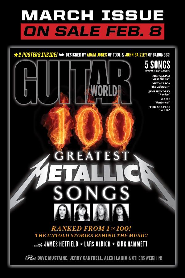 TOP100 Metallica-dal EVÖR