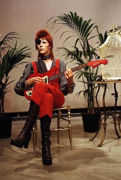 David Bowie - csendélet