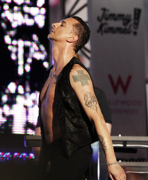 A Depeche Mode koncert emléke