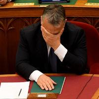Ez csak egy kép, de mindent elmond arról, hogy érzi magát Orbán