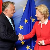 Von der Leyen helyretette Orbánt