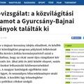 Nem fogja elhinni, mit talált ki a kormányszóvivő a Tiborcz-féle lopásra: Gyurcsány a hibás!