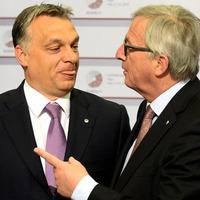 Juncker tiszteli Orbánt, de azért reméli, hogy a bódult nacionalisták ráfaragnak az EP-választáson