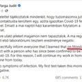 Varga Judit megpróbálta letagadni, hogy ő is részt vett a zsófiapusztai Covid-partin, de Gulyás meghazudtolta