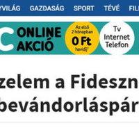 A Google 50 ezer eurót ad Orbán szélsőjobbos propagandalapjának