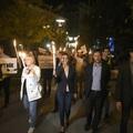 Saját tüntetésén vonták kérdőre az LMP-t Ungár Péter Mészáros Lőrinc bankjától kapott ötmilliárd forintja miatt