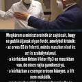Ha egészséges, ne hordjon maszkot! Orbán maszkban