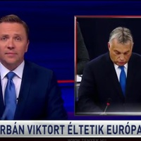 A Tények utcahosszal nyerte a nyalási versenyt: náluk Orbán elsöprő sikert ért el Strasbourgban