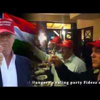 Videó, amivel nem tudunk betelni: Németh Szilárd Trumpot köszönti