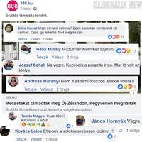 Egy képben arról, mi köze a magyar gyűlöletpropagandának az új-zélandi mészárláshoz