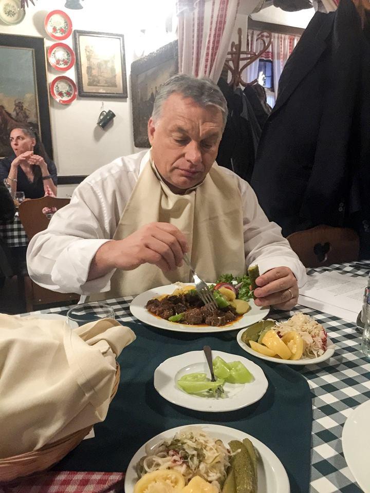 Orbánnak állandóan az evésen jár az esze - B1 BLOGCSALÁD