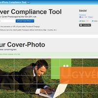 Facebook cover 20%-os szabály ellenőrzésére