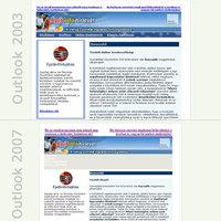 A szorítóban: Outlook 2003 vs. 2007
