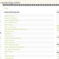 Frissült az onlinemarketingszotar.hu